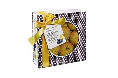 Deli Cookies Blueberry & Zitronencremefüllung  Geschenkversand