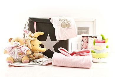 SPIELZEUGBOX Babygeschenke für Mädchen