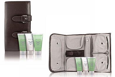 Praktische Reisetasche für Männer als Geschenkset
