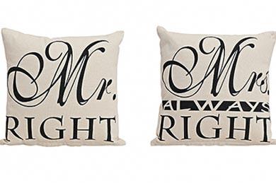 Geschenkversand Mr. & Mrs. KISSEN zur Hochzeit