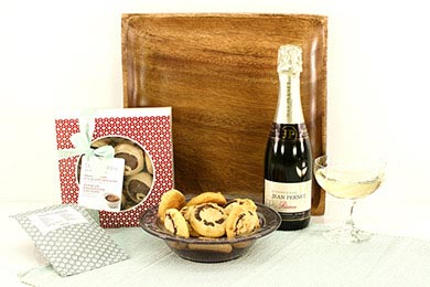 CHAMPAGNER & DELI COOKIES PRÄSENTKORB