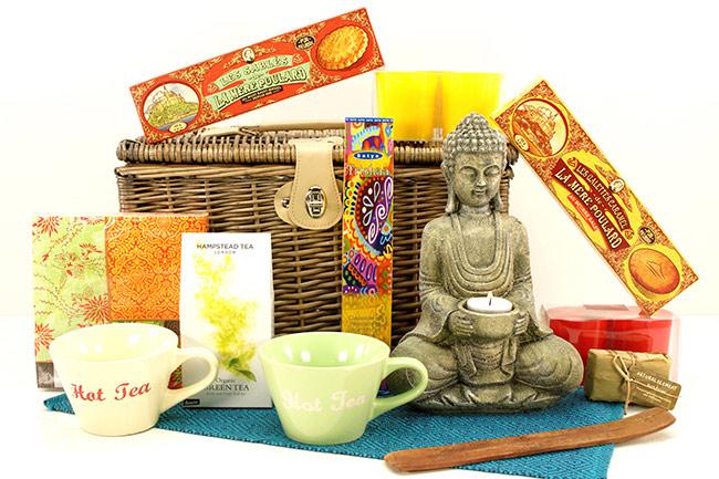 PRÄSENTKORB BUDDHA Frauengeschenke Versand Shop