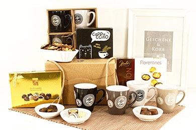 Geschenkbox KAFFEE & SCHOKO im Online Shop kaufen