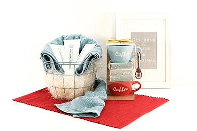 Online Shop PRÄSENTKORB SPA KAFFEE Geschenkidee