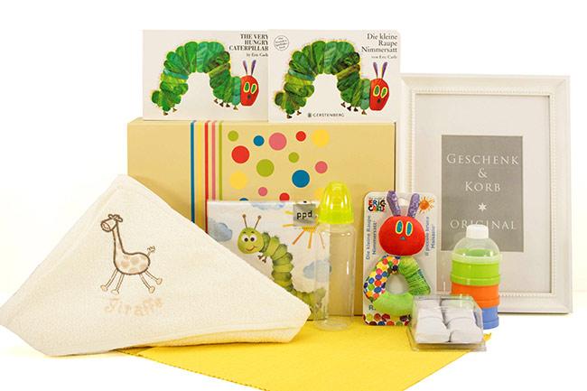 Baby Geschenkset RAUPE NIMMERSATT