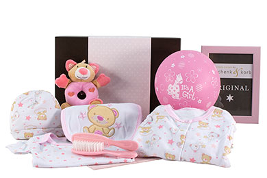 Baby SCHLAFMÜTZE  für Mädchen Babygeschenke Versand