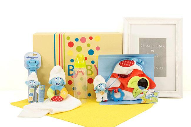 Baby Geschenke BABY SCHLUMPFSET