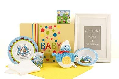 Baby Sets SCHLUMPF BABY SET Baby Geschenke