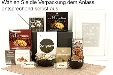 Schokolade Geschenke CHOCOLATIER COLLECTION