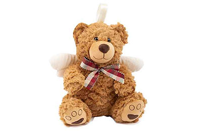 SCHUTZENGEL TEDDY als Geschenk verschickt