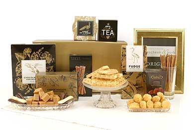 SWEET & CHEESY toll gemischte Geschenkbox - süß & salzig