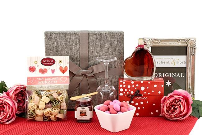 Geschenkbox für Frauen VON GANZEM HERZEN