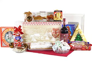 VORFREUDE Weihnachtsgeschenk mit Rotwein
