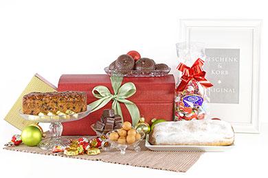 WEIHNACHTLICHE SCHATZKISTE Weihnachtsgeschenke Versand