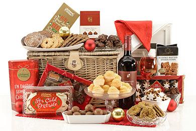 Weihnachtsgeschenkkorb FROHE FESTTAGE