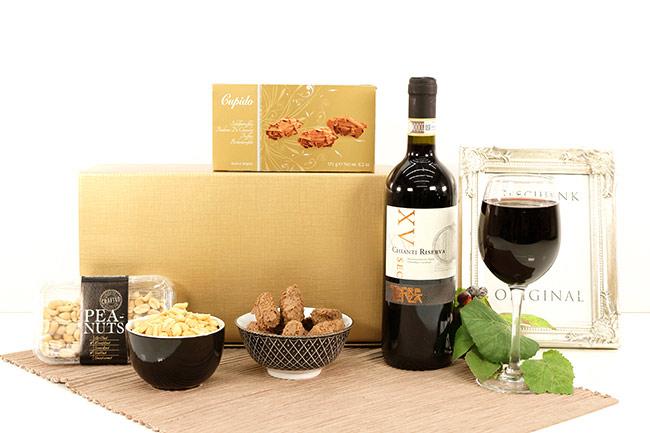 Firmengeschenke CHIANTI SWEET & SALTY Weihnachtskorb