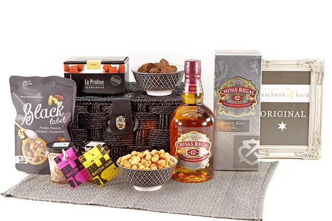 Geschenkkorb Chivas Regal Whisky on the rocks