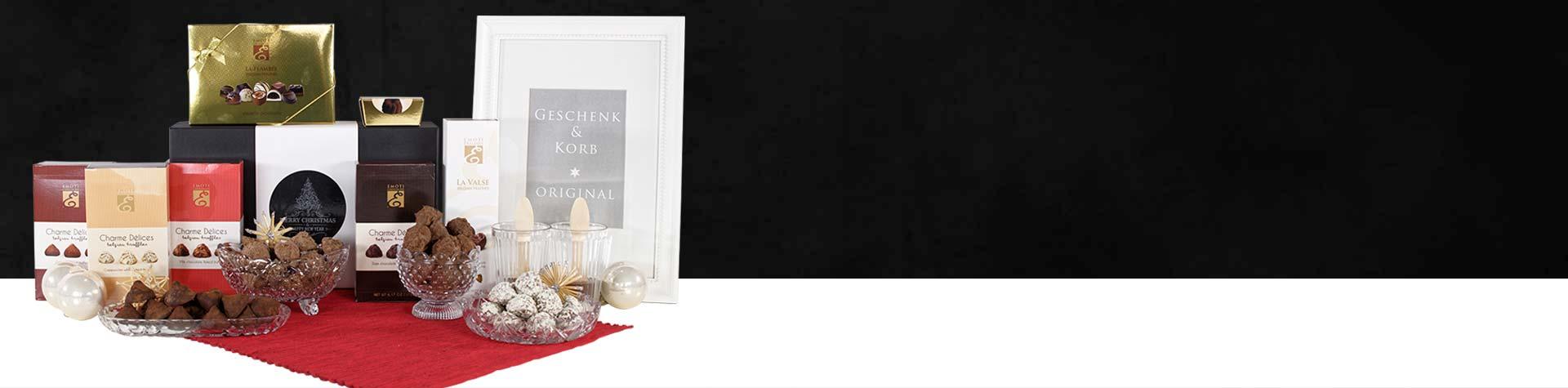 Geschenkkorb | + 250 Geschenkkörbe online verschicken lassen
